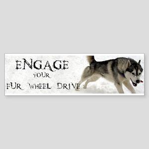 Siberian Husky Bumper Stickers Cafepress