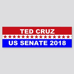 Ted Cruz Senate 2018 Sticker (Bumper)