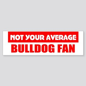 Bulldog fan Bumper Sticker