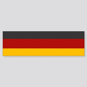 """Germany Flag"" Bumper Sticker"