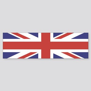 UNION JACK UK BRITISH FLAG Bumper Sticker