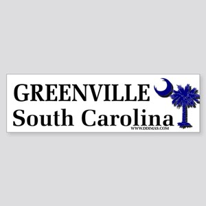 Greenville South Carolina Bumper Sticker