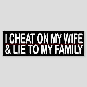 Divorce Bumper Stickers - CafePress