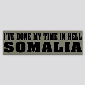Somalia-Hell Bumper Sticker