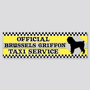 Official Brussels Griffon Taxi Bumper Sticker