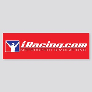 Iracing Bumper Stickers - CafePress