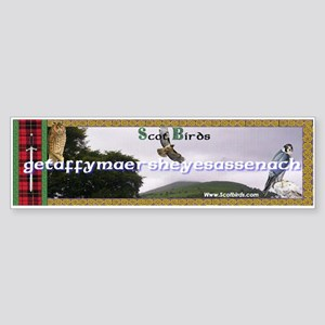 Scotbirds Bumper Sticker