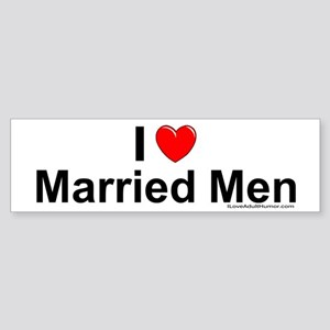 Married Men Sticker (Bumper)