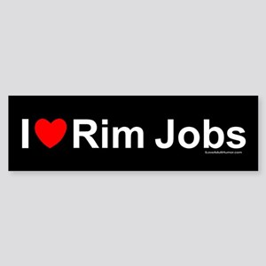 Rim Jobs Sticker (Bumper)