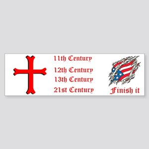 Finish It Sticker (Bumper)