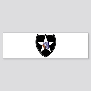 3rd Brigade, 2nd Infantry Division Sticker (Bumper