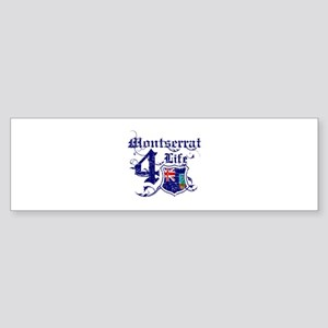 Montserrat for life designs Sticker (Bumper)