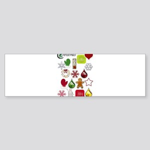 Christmas Goodies Bumper Sticker