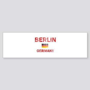Berlin Germany Designs Sticker (Bumper)