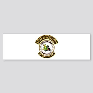 US Navy - Emblem - UDT - Sammy - Freddie Sticker (