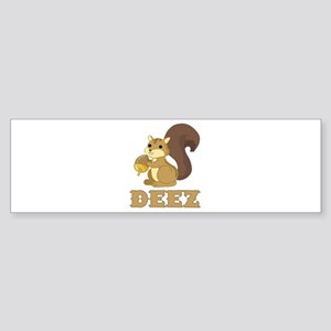 Deez Nuts Bumper Sticker