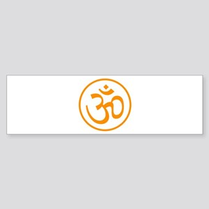 Aum Orange Bumper Sticker