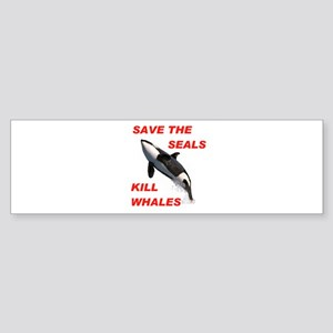 SAVE THE SEALS Bumper Sticker