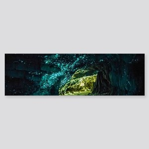 WAITOMO GLOWWORM CAVES Sticker (Bumper)