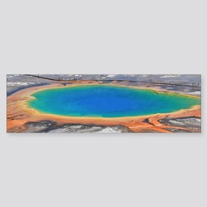 GRAND PRISMATIC SPRING Sticker (Bumper)