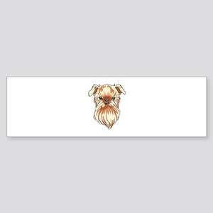 BRUSSELS GRIFFON DOG Bumper Sticker