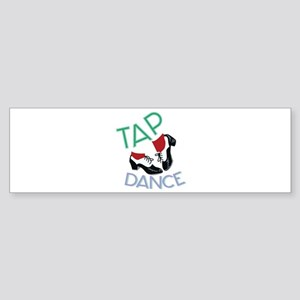 Tap Dance Bumper Sticker