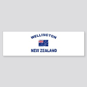 Wellington New Zealand Designs Sticker (Bumper)