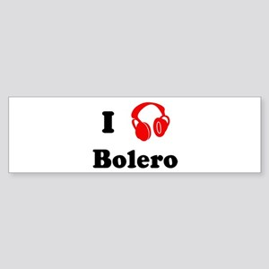 Bolero music Bumper Sticker