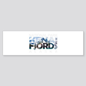 Kenai Fjords - Alaska Bumper Sticker
