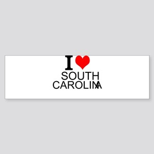 I Love South Carolina Bumper Sticker