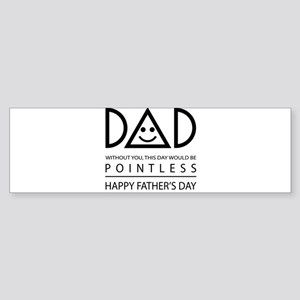 Best Farter Ever Funny Father's Day Bumper Sticker