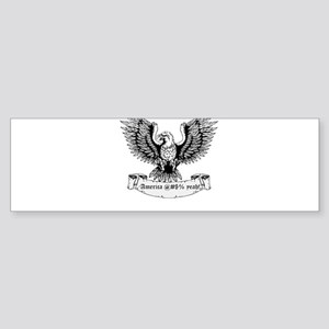America! Sticker (Bumper)