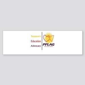 Support Education Advocacy - PFLAG Bumper Sticker