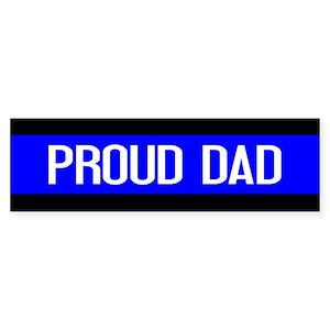 aa2662ed Dad Bumper Stickers - CafePress