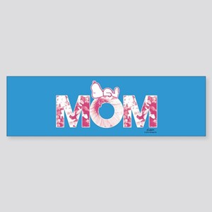 Snoopy - Mom Full Bleed Bumper Sticker