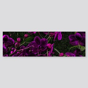 Fantasy Flowers Bumper Sticker