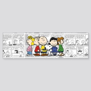 The Peanuts Gang Sticker (Bumper)