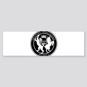 MI6 Logo Bumper Sticker