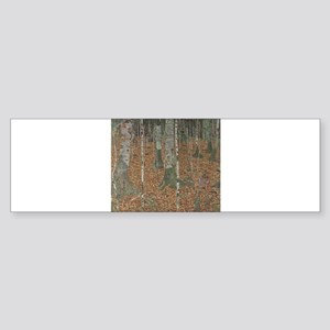 Birch Forest Sticker (Bumper)