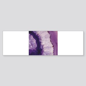 layer of purple goodness Bumper Sticker