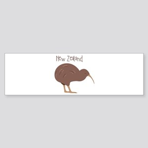 New Zealand Bird Bumper Sticker