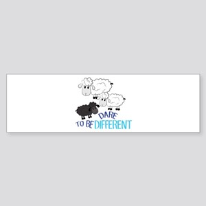 Be Different Bumper Sticker