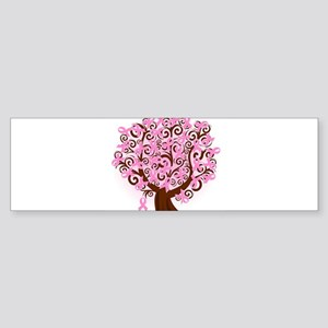 The Tree of Life...Breast Cancer Bumper Sticker