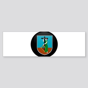 Coat of Arms of Montserrat Bumper Sticker