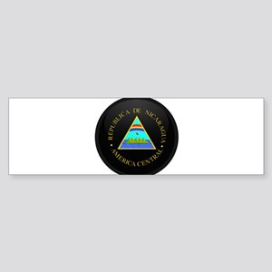 Coat of Arms of Nicaragua Bumper Sticker