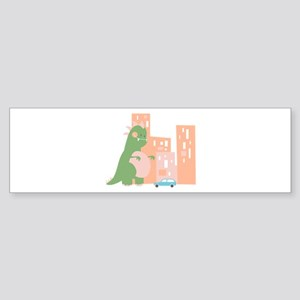 City Kaiju Bumper Sticker