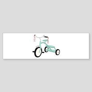 Blue Trike Bumper Stickers - CafePress