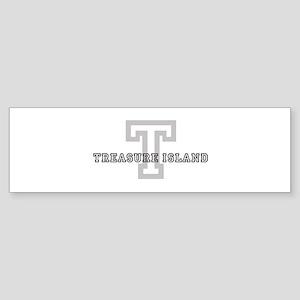 Treasure Island Bumper Stickers - CafePress