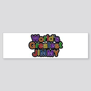 World's Greatest Jimmy Bumper Sticker