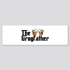 The Grogfather Sticker (Bumper)